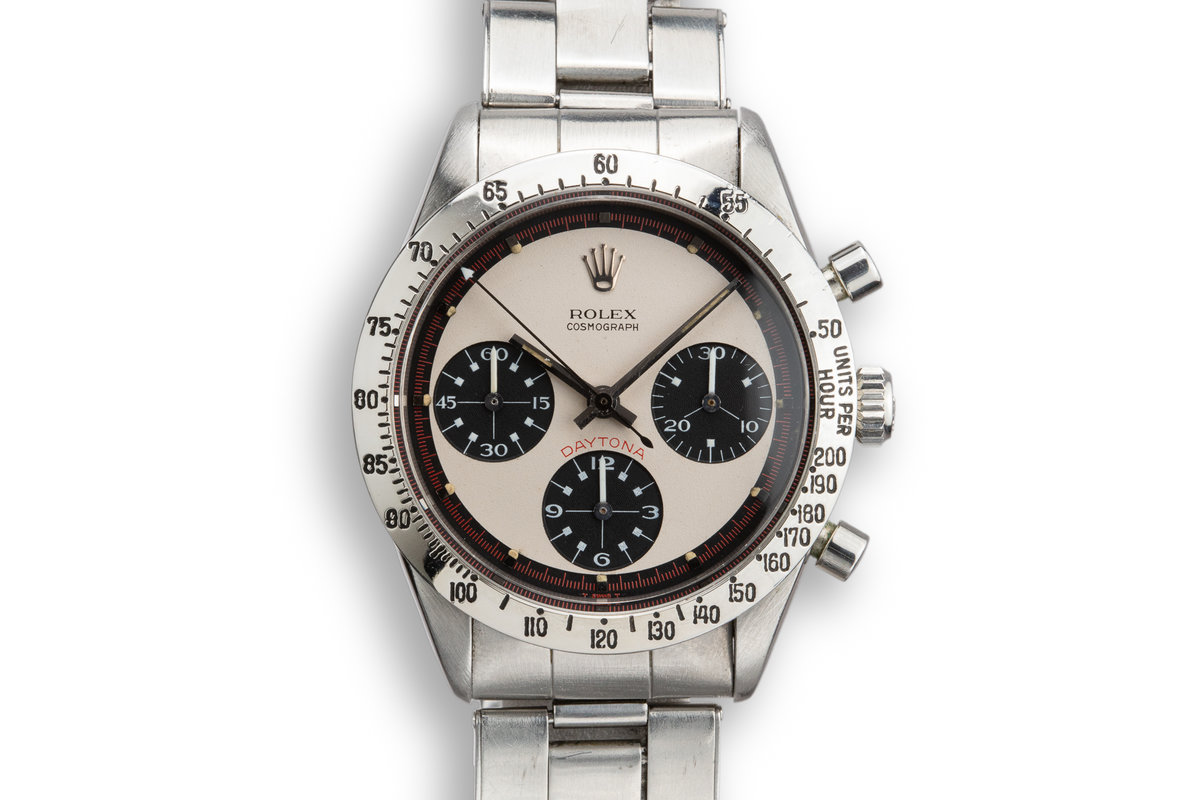 1968 Rolex Daytona 6239 with White Paul Newman Dial photo, #0