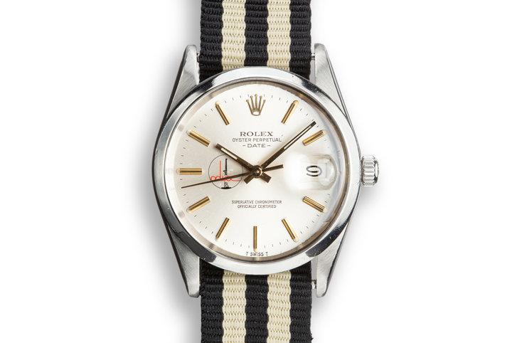"1981 Rolex Date 15000 ""Adwoc"" Silver Dial photo"