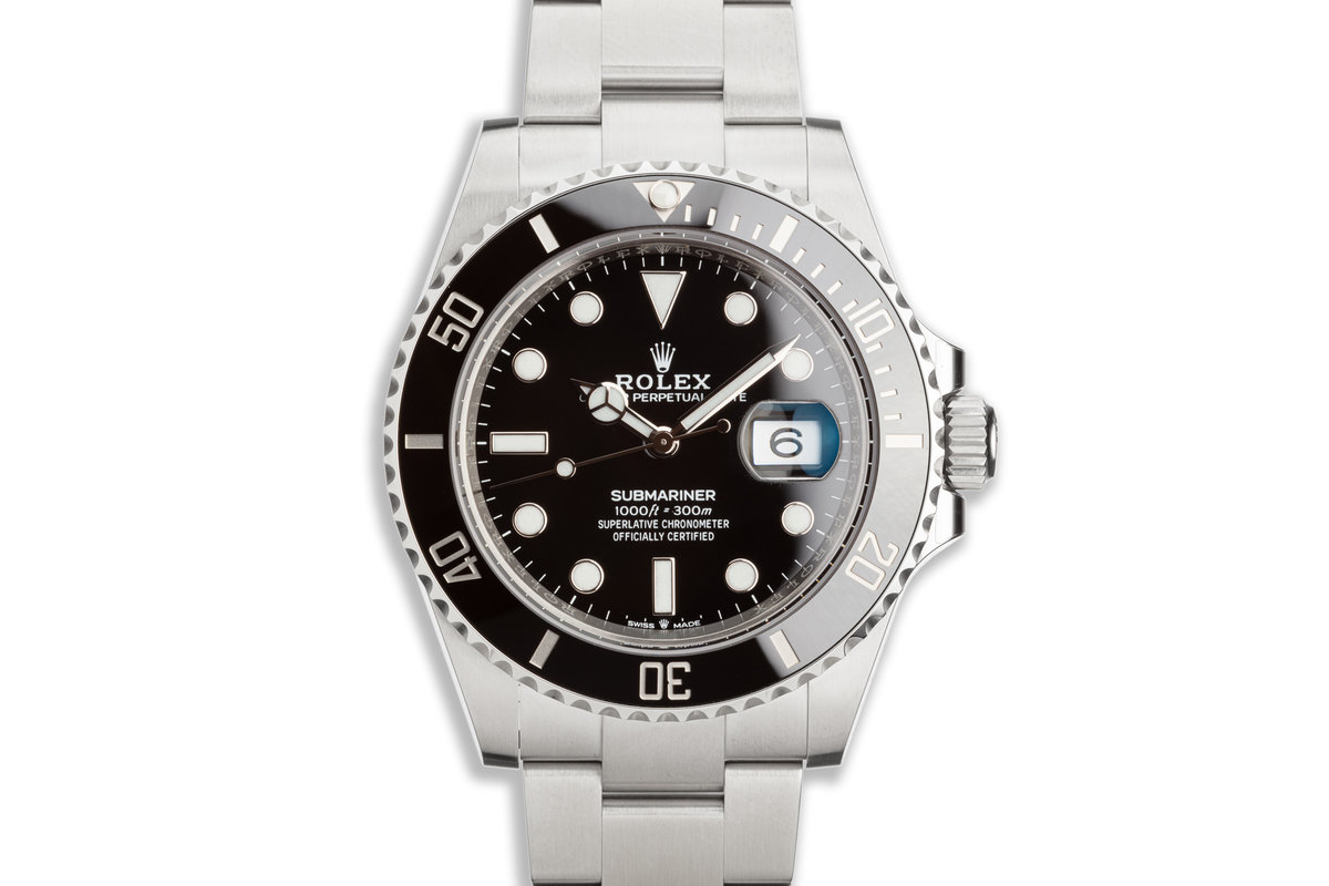 2020 41mm Rolex Submariner 126610LN with Box & Card photo, #0