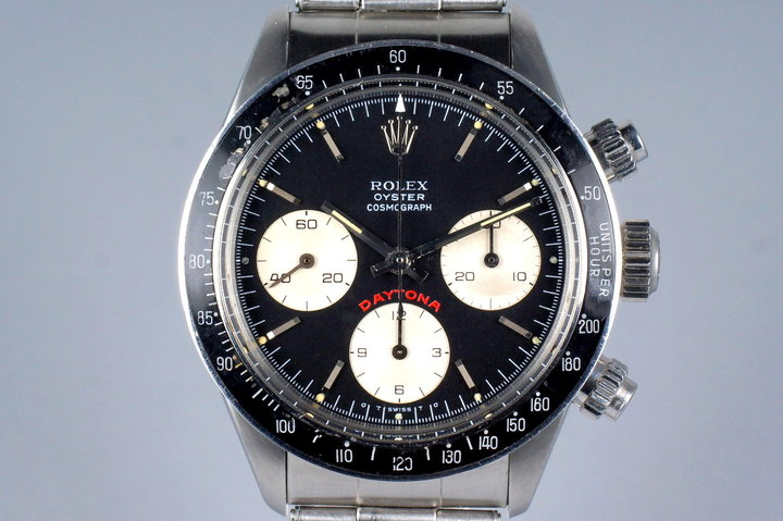 1975 Rolex Daytona 6263 Black Sigma Big Red Daytona Dial with RSC Papers photo