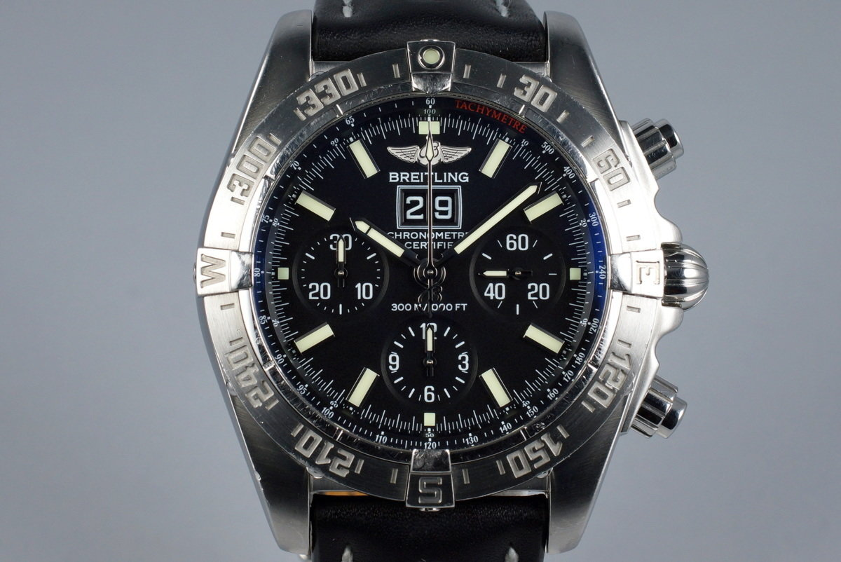 2007 Breitling Blackbird A44359 with Box and Papers photo, #0