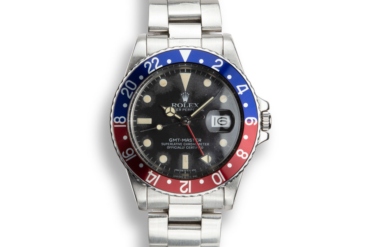 "1982 Rolex GMT-Master 16750 with ""Pepsi"" Bezel Insert photo, #0"