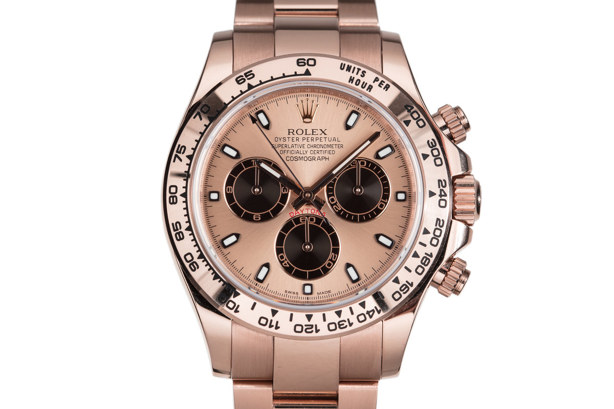 2016 Rolex Rose Gold Daytona 116505 with Box and Papers photo, #0