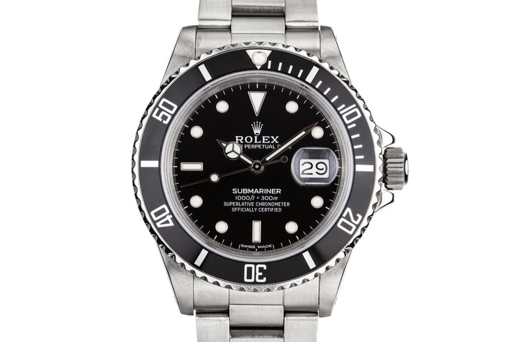 1986 Rolex Submariner 16800 photo