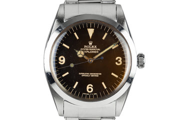 1966 Rolex Explorer I 1016 with Tropical Dial photo