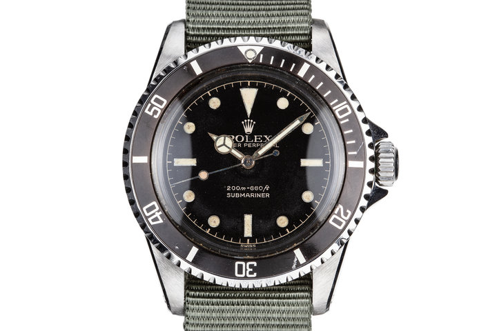 1961 Rolex Submariner 5512 with Gilt Chapter Ring Dial photo