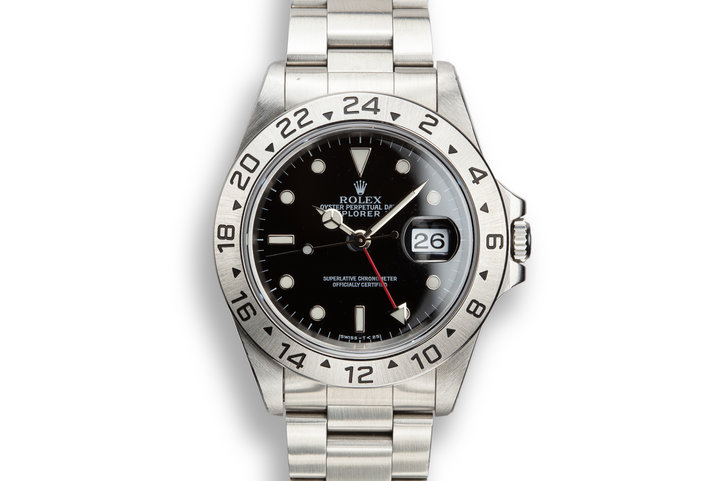 1997 Rolex Explorer II 16570 Black Dial with Box and Papers photo