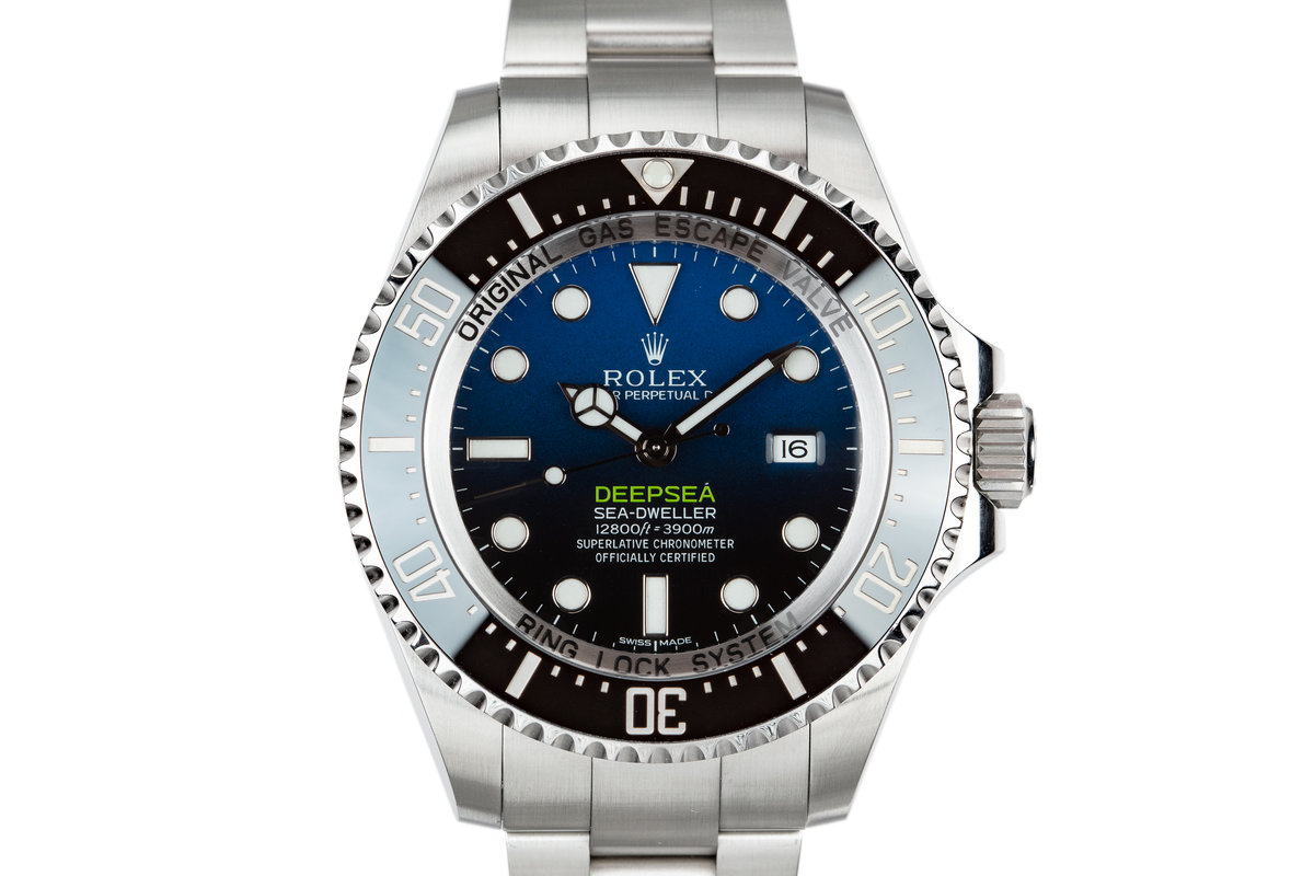 2017 Rolex Deep Sea-Dweller 116660 with Box and Papers photo, #0
