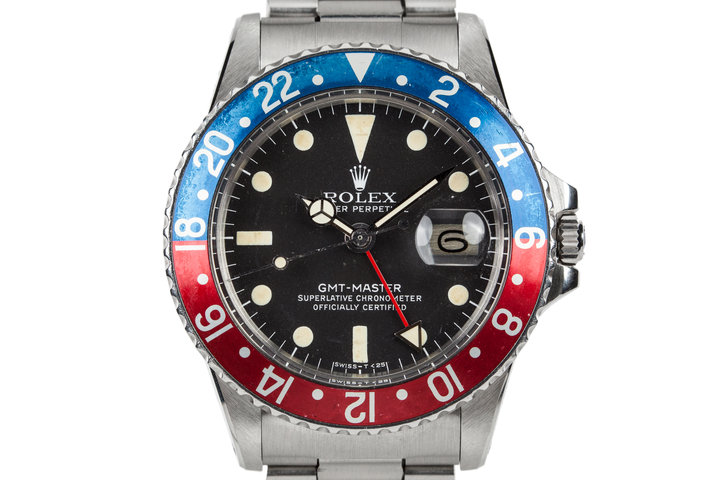 1977 ROlex GMT-Master 1675 with Box and Papers photo