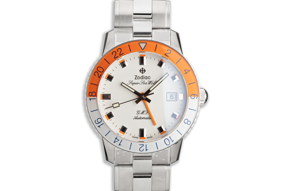 The Zodiac Super Sea Wolf GMT Limited Edition photo, #0