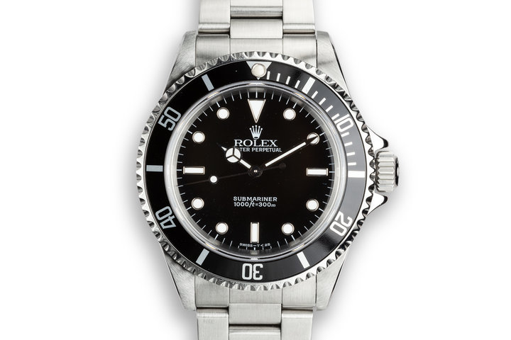 1995 Rolex Submariner 14060 with Service Papers photo