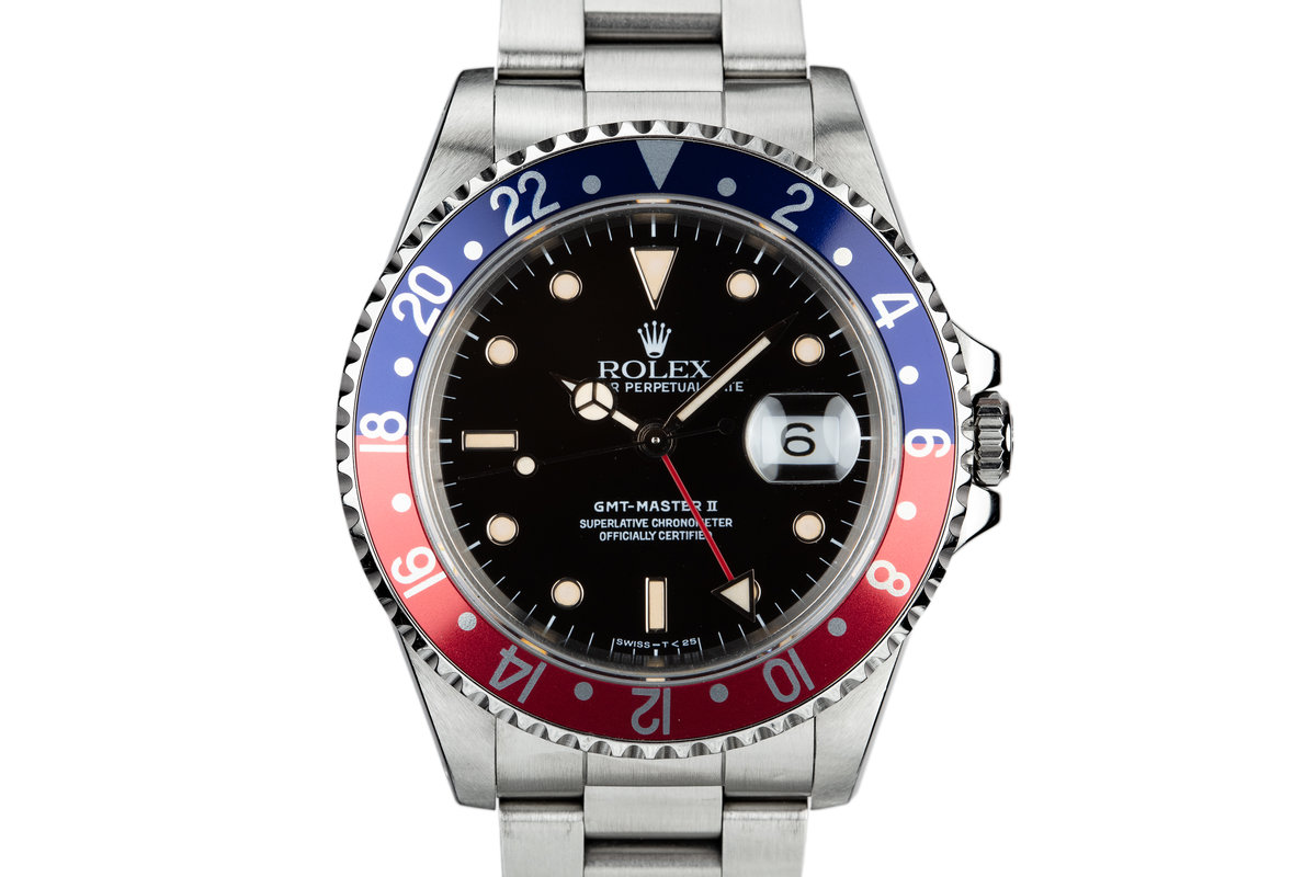 "1989 Rolex GMT-Master II 16710 ""Pepsi"" with Box photo, #0"