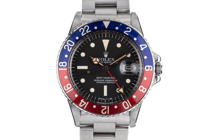 1975 Rolex GMT-Master 1675 with Radial Dial photo