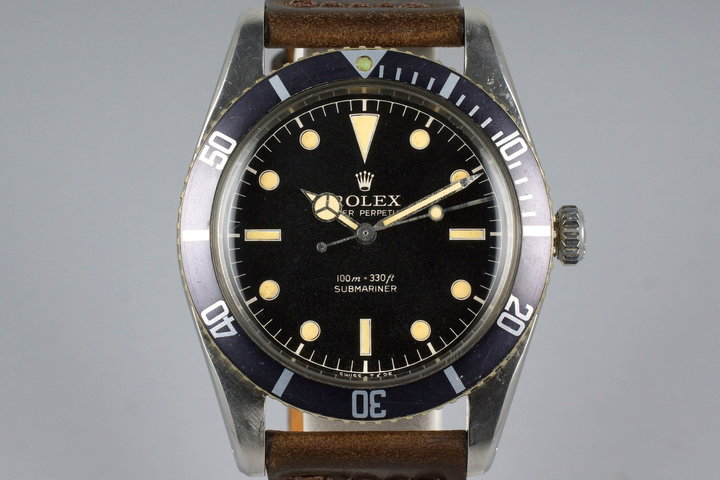 1957 Rolex Submariner 6536-1 Service Dial photo
