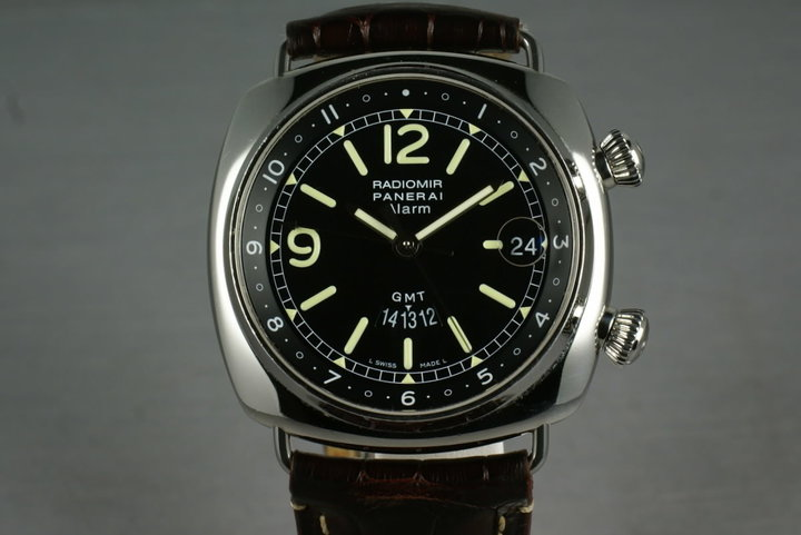 Panerai Radomir series Ref: Pam98 GMT Alarm photo