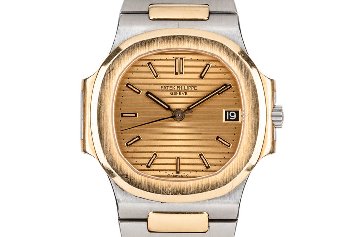 Patek Philippe Two Tone Nautilus 3800/001 with Papers photo