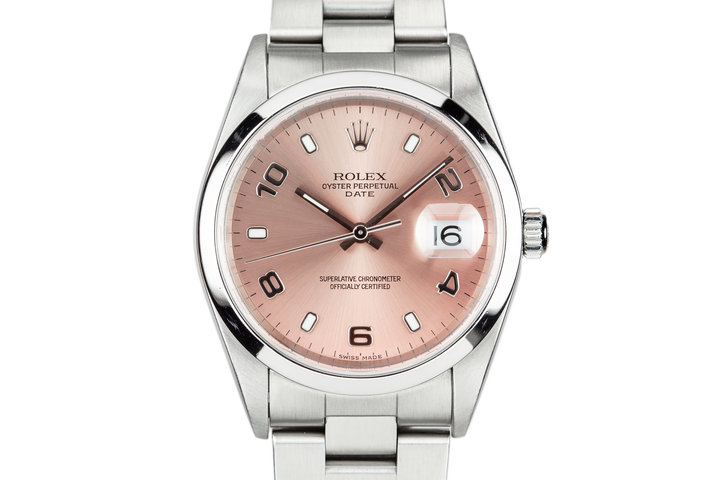 2005 Rolex Date 15200 with Box and Papers photo
