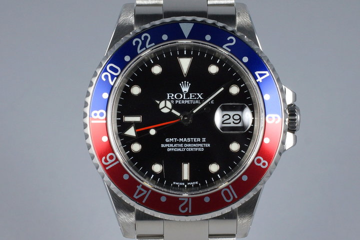 2000 Rolex GMT II 16710 photo