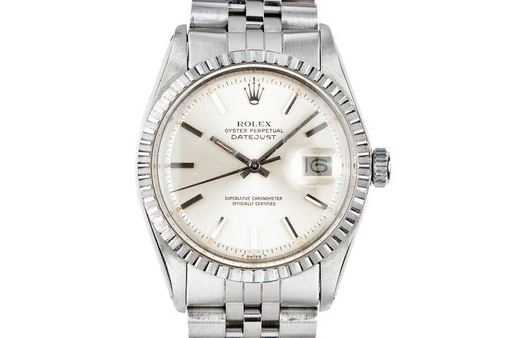 1977 Rolex DateJust 1603 Silver Dial photo