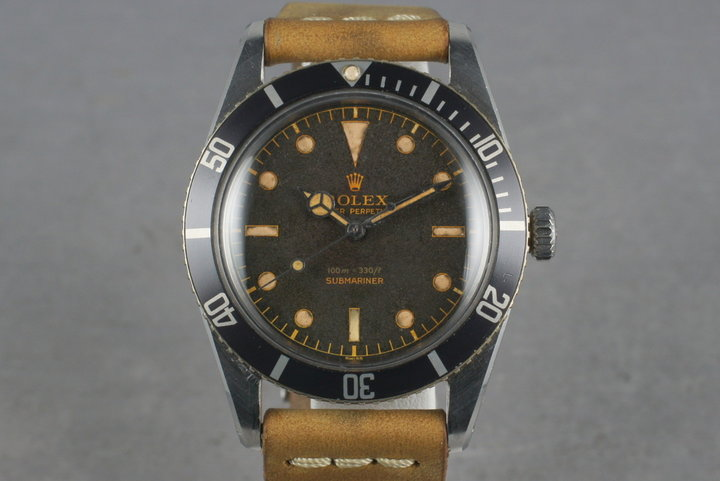 1956 Rolex Submariner Ref: 6536-1 photo