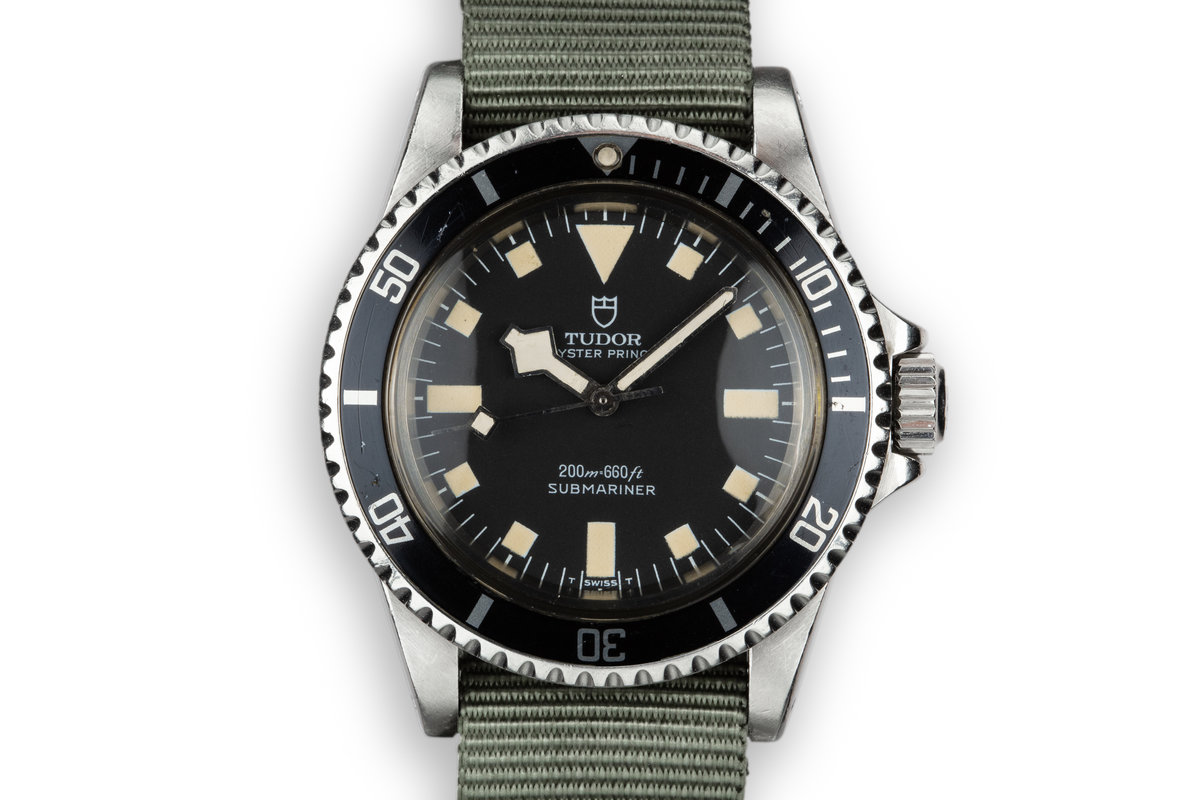 1979 Tudor Snowflake Submariner 94010 Black Dial photo, #0