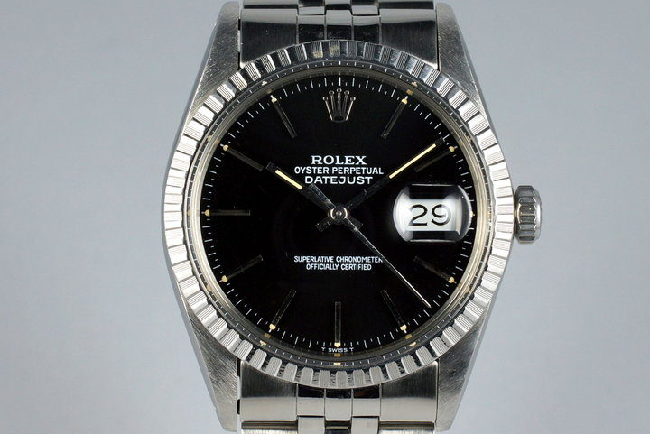 1985 Rolex DateJust 16030 with Glossy Black Dial photo
