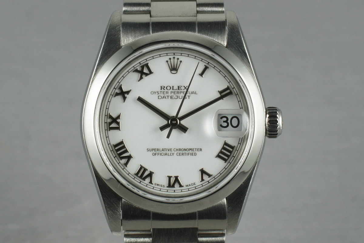 2002 Rolex Midsize Datejust 78240 Box and Papers photo, #0
