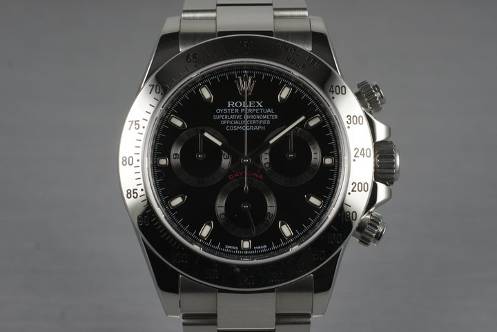 2011 Rolex Daytona 116520 with Box and Papers photo