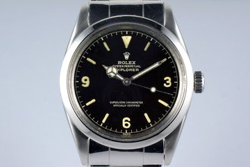 1960 Rolex Explorer 1 1016 Gilt Chapter Ring Dial photo