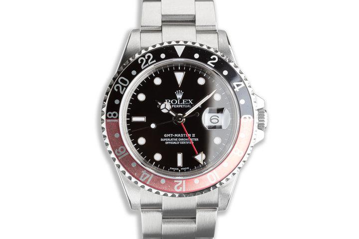 "1999 Rolex GMT-Master II 16710 ""Coke"" Bezel photo"