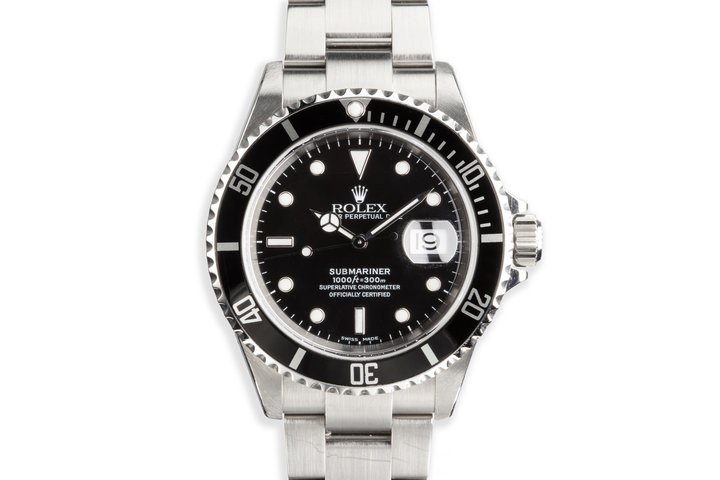 2003 Rolex Submariner 16610 photo