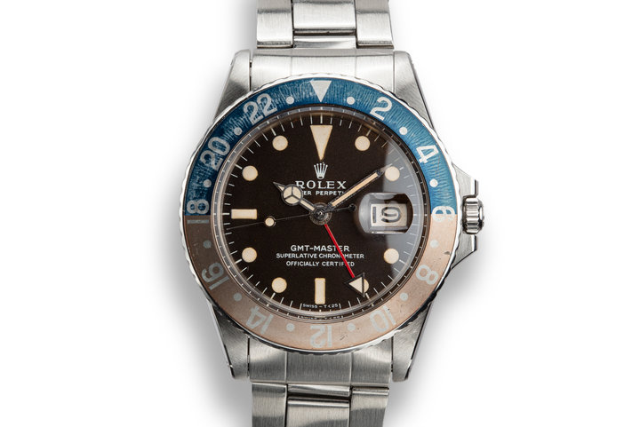 1968 Rolex GMT-Master 1675 Dark Brown Dial with Box and Papers photo