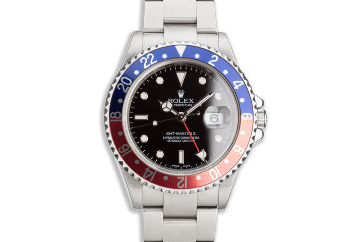 "2005 Rolex GMT-Master II 16710 T ""Pepsi"" Bezel photo"