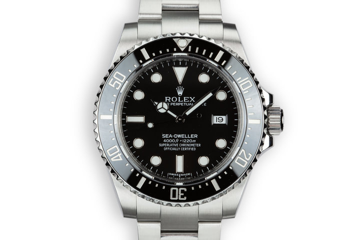 2016 Rolex Sea-Dweller 116600 with Box and Papers photo