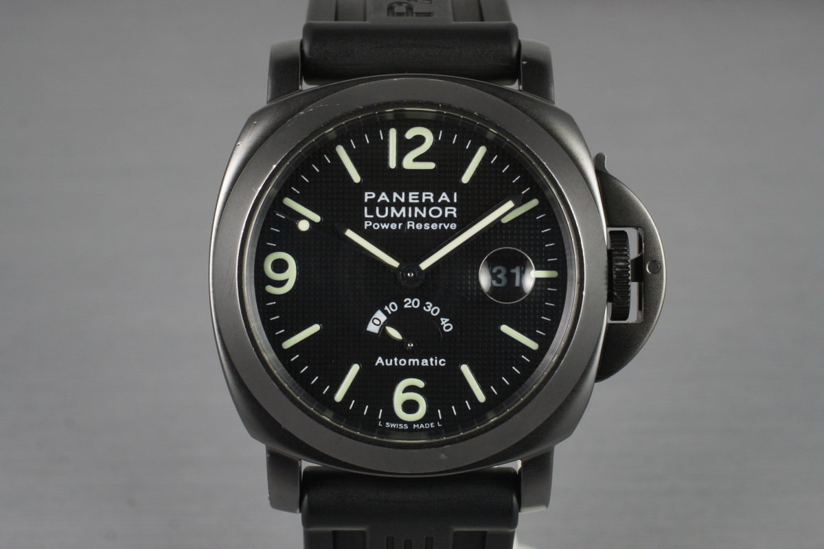 1999 Panerai PAM 28 Luminor Power Reserve with Box photo, #0