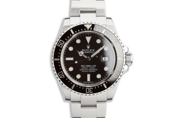 2015 Rolex Sea-Dweller 116600 with Box & Card photo