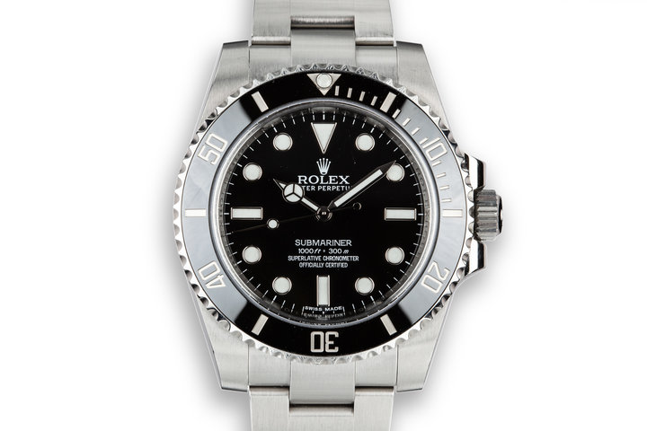 Rolex Ceramic Submariner 114060 with Box photo