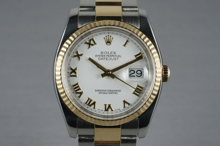 2005 Rolex Two Tone DateJust 116233 photo