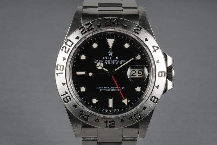 1984 Rolex Explorer II 16550 Black Dial photo