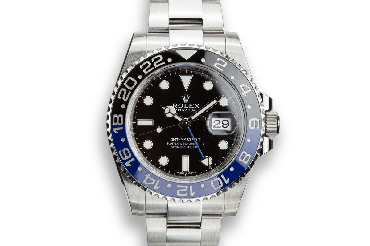 Rolex GMT-Master II 116710BLNR photo, #0