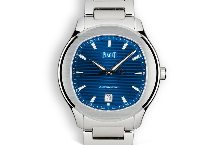 2018 Mint Piaget Polo S G0A41002 Blue Dial with Box and Papers photo