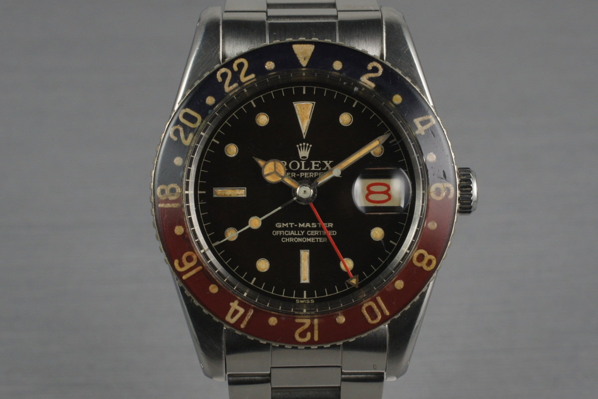 1958 Rolex GMT 6542 with Bakelite Bezel photo, #0