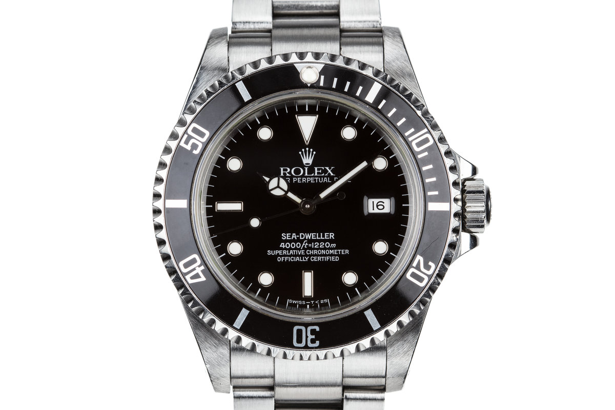 1995 Rolex Sea-Dweller 16600 with Box and Papers photo, #0