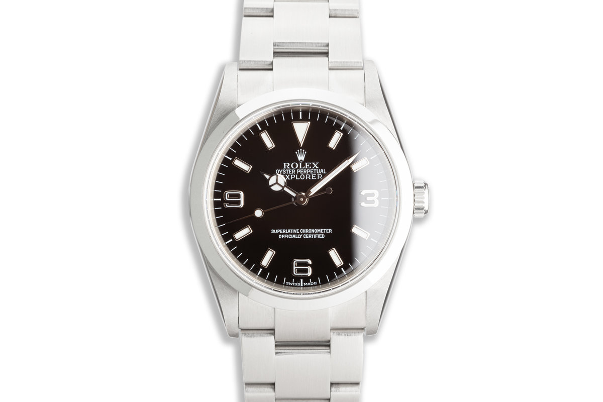 2006 Rolex Explorer 114270 with Papers photo, #0