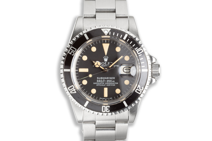 1978 Vintage Rolex Submariner 1680 with Box Papers & Service Papers photo