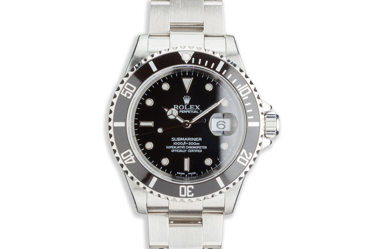 2002 Rolex Submariner 16610 photo, #0