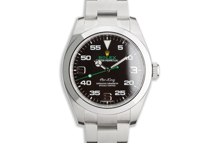 2020 Rolex 40mm Air-King 116900 with Box and Card photo