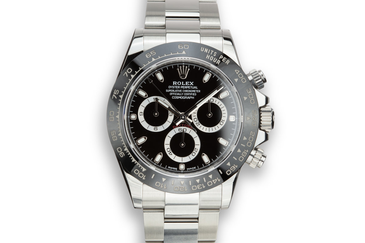 2017 Rolex Daytona 116500LN Black Dial with Box and Papers photo, #0