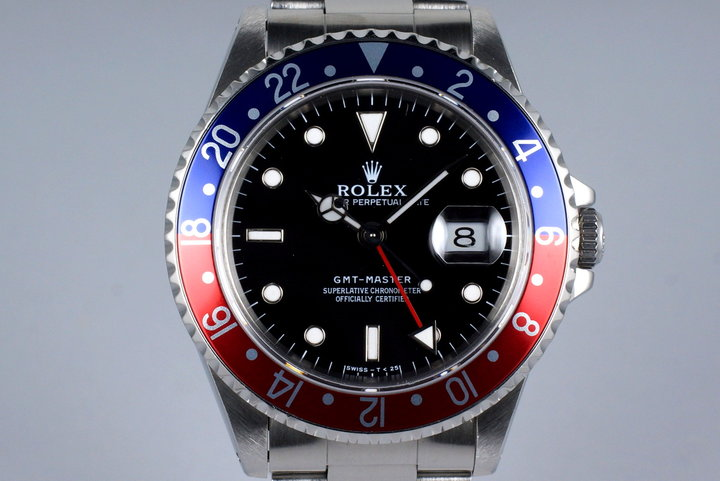 1996 Rolex GMT 16700 with Box and Papers photo