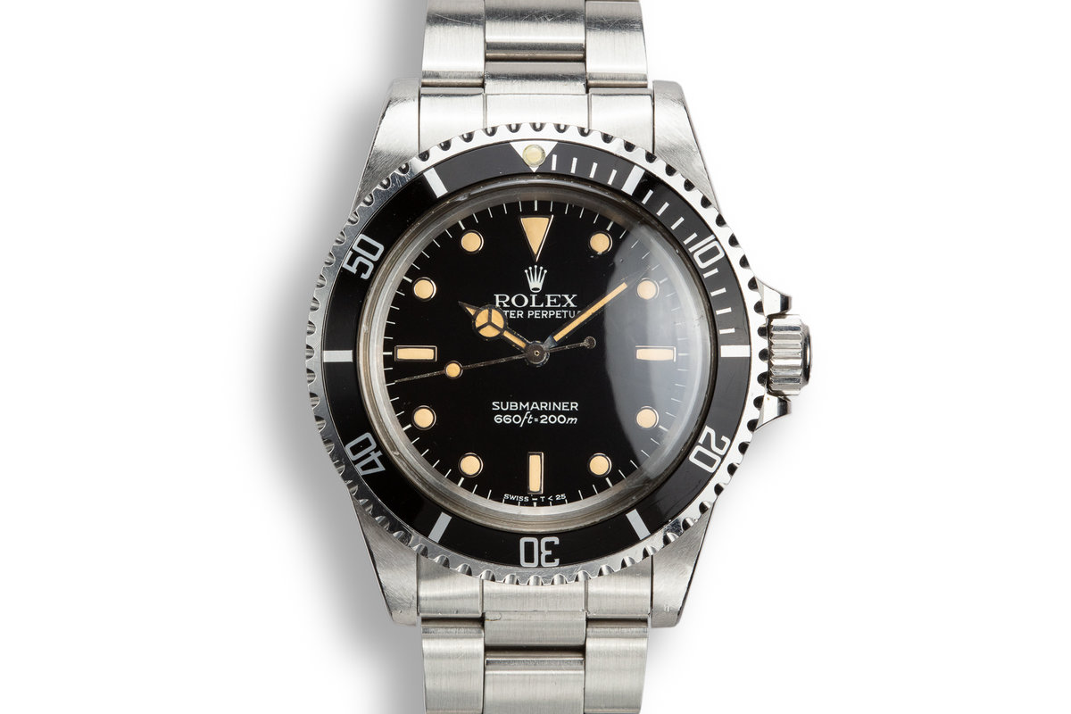 1983 Rolex Submariner 5513 Glossy Dial photo, #0